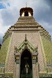 Thailand in de kleuren van de de regentempel van Bangkok Royalty-vrije Stock Afbeelding