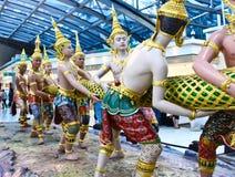 Thailand: De Luchthaven van Suvarnabhumi Stock Fotografie