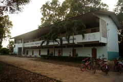 THAILAND 4 DEC 2016; the condition of the school in Sakon Nakhon province of North-Eastern of the country Thailand Stock Photography