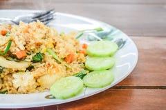 Thailand dessert, sticky rice toast Stock Image