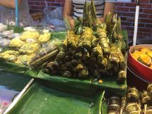 Thailand dessert. The varieties of Thailand dessert sweet and delicious Stock Image