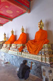 Thailand - Dhyana buddha - decorator royalty free stock image