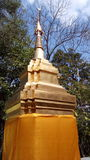 Thailand Doi pagoda architecture Royalty Free Stock Photos