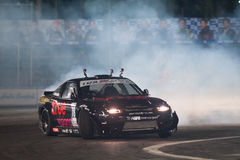 Thailand Drift Series 2014 in Pattaya Stock Photo