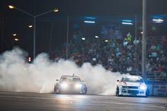 Thailand Drift Series 2014 in Pattaya Royalty Free Stock Photos