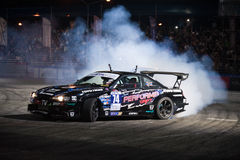 Thailand Drift Series 2014 in Pattaya Stock Photography
