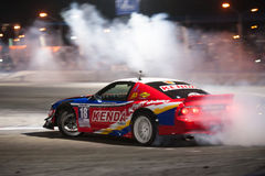 Thailand Drift Series 2014 in Pattaya Royalty Free Stock Images