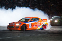 Thailand Drift Series 2014 in Pattaya Royalty Free Stock Photos