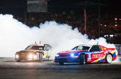 Thailand Drift Series 2014 in Pattaya Royalty Free Stock Photo