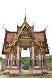 Thailand, een gebouw toegewijd die aan de verering, of als woningsplaats, of andere voorwerpen van religio wordt beschouwd stock foto