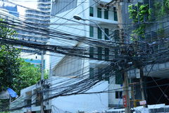 Thailand electricity Stock Photography