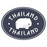 Thailand emblem Royalty Free Stock Images