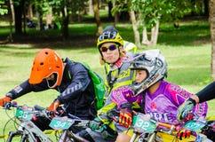 Thailand Enduro serie 2014 Royaltyfria Foton