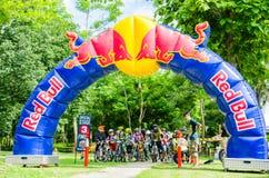 Thailand Enduro serie 2014 Royaltyfria Bilder