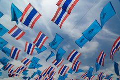 Thailand ensign Stock Image