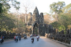 Siam reap Temple, in Cambodia,Thailand Royalty Free Stock Photography