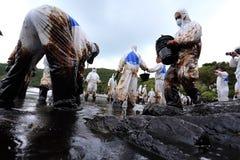 THAILAND-ENVIRONMENT-OIL-POLLUTION fotografia stock libera da diritti