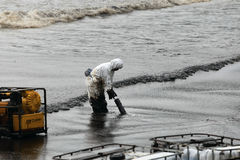 THAILAND-ENVIRONMENT-OIL-POLLUTION Imagem de Stock
