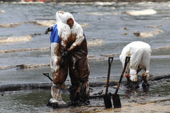 THAILAND-ENVIRONMENT-OIL-POLLUTION 库存图片
