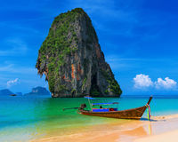Thailand exotic tropical beach Royalty Free Stock Photography