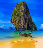 Thailand exotic tropical beach Stock Images