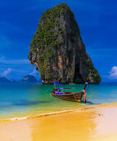 Thailand exotic tropical beach Royalty Free Stock Images
