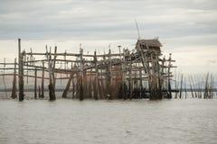 thailand för angthongnationalparkhav sikt Arkivfoton