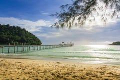 thailand för angthongnationalparkhav sikt Arkivbilder