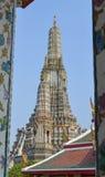 thailand för arunbangkok pagoda wat Arkivbilder