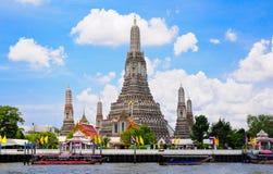 thailand för arunbangkok tempel wat Fotografering för Bildbyråer