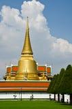 thailand för bangkok kaewphra wat Arkivbild