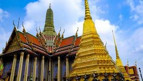 thailand för bangkok kaewphra wat Arkivfoton