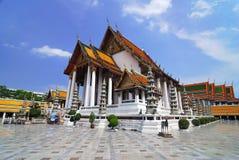 thailand för bangkok suthattempel wat Arkivfoto