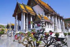 thailand för bangkok suthattempel wat Arkivfoton