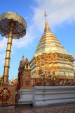 thailand för doiphrathatsuthep wat Royaltyfria Foton