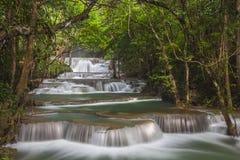 thailand för mae för huaikaminkanchanaburi vattenfall Royaltyfri Foto