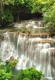 thailand för mae för huaikaminkanchanaburi vattenfall arkivfoton
