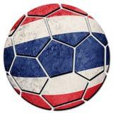 Thailand för medborgare för fotbollboll flagga Thailand fotbollboll Arkivbilder