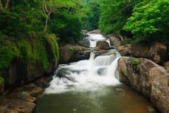 thailand för nakhonnangrongnayok vattenfall Arkivfoton