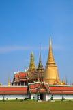 thailand för phra för bangkok storslagen kaewslott wat Arkivfoto