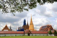 thailand för pra för bangkok storslagen kaewslott wat Arkivbild