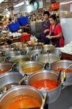 thailand för stall för marknad för bangkok matkor tor fotografering för bildbyråer