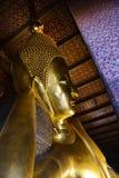 thailand för staty för pho för bangkok buddha framsidaguld reclining wat Wat Pho Arkivbilder