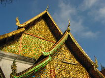 thailand för suthep för phrathat för chiangdoimai wat Arkivbild