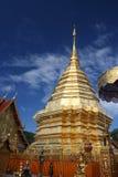 thailand för suthep för phrathat för chiangdoimai wat Royaltyfria Foton