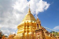 thailand för suthep för phra för chiangdoimai wat Royaltyfria Bilder