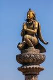 thailand för tempel för staty för phra för kaew för bangkok buddha smaragdgaruda wat Royaltyfria Foton