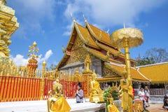 thailand f?r suthep f?r phra f?r chiangdoimai wat royaltyfria foton