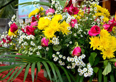 Thailand festivel art flower Stock Images