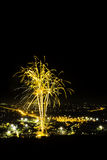 Thailand-Feuerwerke Stockbild